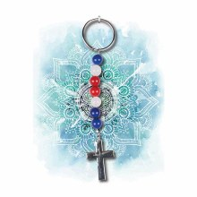 """Cross"" Keychain"