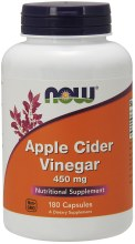 NOW Apple Cider Vinegar 450 mg
