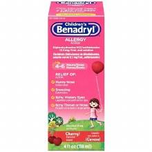 Benadryl chld chry allrgy liq