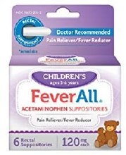 Children FeverAll Suppository