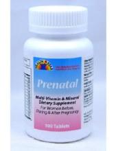 HS Prenatal 100 tab
