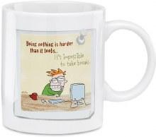 sarcastic work mug do nothing