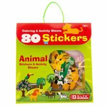 Bazic Animal Sticker set