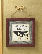 COUNTRY BLESSINGS PLAQUE