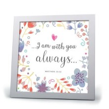 With You Always Framed Art