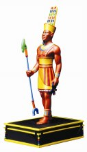 Amon Egyptian Figurine 9.5""