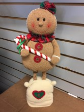 STANDING GINGERBREAD GIRL
