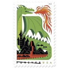 Dragons Forever Stamp