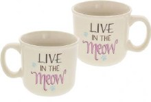 Live In The Meow Pawsitive Mug