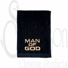 Man of God Towel Blk/Gld