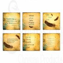 Feathers Of Faith Coasters