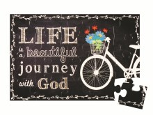 Journey With God Puzzle Magnet