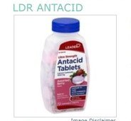 LDR Antacid Tab Berry 72