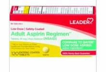 LDR Aspirin 81mg 120 tab
