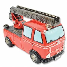 Red Fire Truck Bank