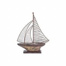 Hope Resin/Metal Sailboat