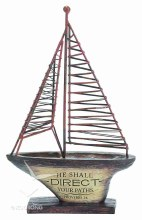 He Shall Direct Sailboat