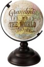 "Grandma World Globe 9"""