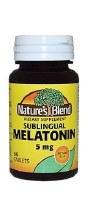 N/b melatonin 5 mg chr tab 60