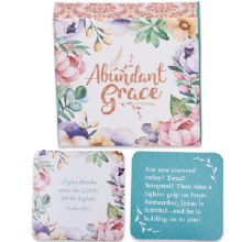 Abundant Grace Scripture Cards