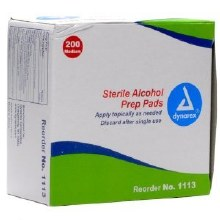 Alcohol Prep Wipes 200pk Med