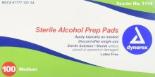 Dynarex Alcohol Prep Pad 100