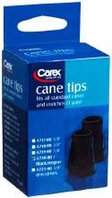"""Tip cane 1"""" black"""