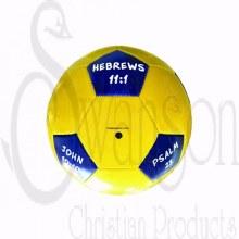 Scripture Soccer Ball