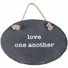 Love Slate Plaque w/ Stake