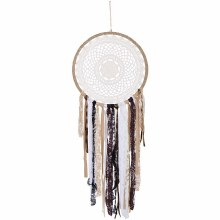 Brown Lace Dreamcatcher
