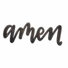 Amen Sculpted Word Sign-