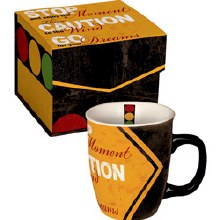 Stop Caution Mug