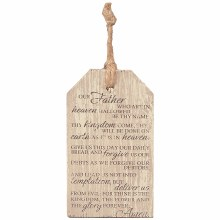 Lords Prayers Gift Tag