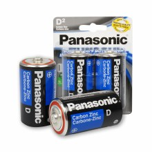 Panasonic D Battery 2-pack