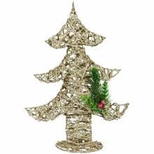 Glitter Tree Table Tecor
