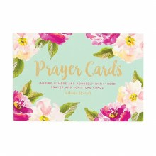 Prayer Cards Mint Box 36ct