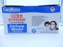 earloop mask 50pk caremates