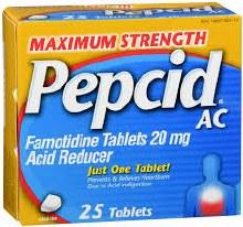 Pepcid ms 25tabs