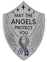 Angel of Victory Visor Clip