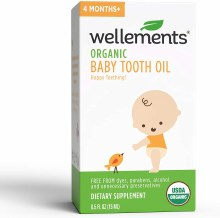 WELLEMENTS ORGAINC TOOTH OIL
