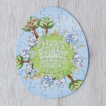 Happy Easter - Easter Puzzle