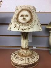 "Sun Lamp 9 1/4"""