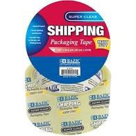 Bazic Clear Shipping Tape 54yd