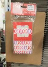 VALENTINES CUPCAKE BOX -3PK