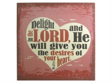 Delight In The Lord Linen