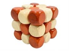 3D Stumbling Block Wood Puzzle