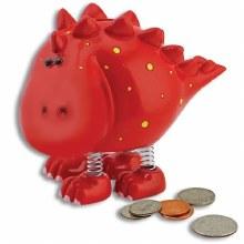 Dinosaur Bank - Red Stegosauru