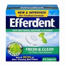 Efferdent Fresh & Clean 44 tab