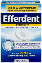 Efferdent Overnight Cleanser
