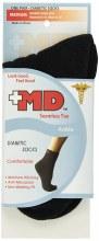 MD DIABETIC ANKLE BLK MED